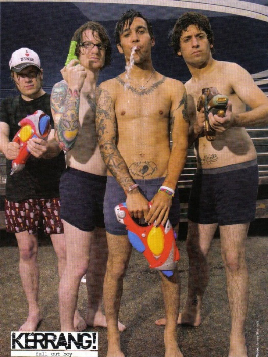 Pete Wentzs Hacked Package: Fall Out Boy Explains Nude